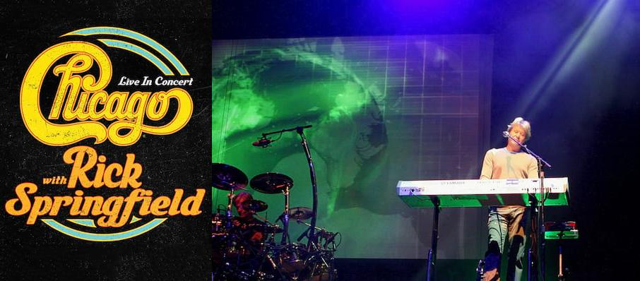 Chicago - The Band at Baton Rouge River Center Theatre