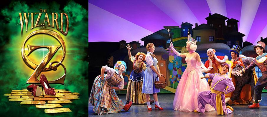 The Wizard of Oz at Baton Rouge River Center Theatre