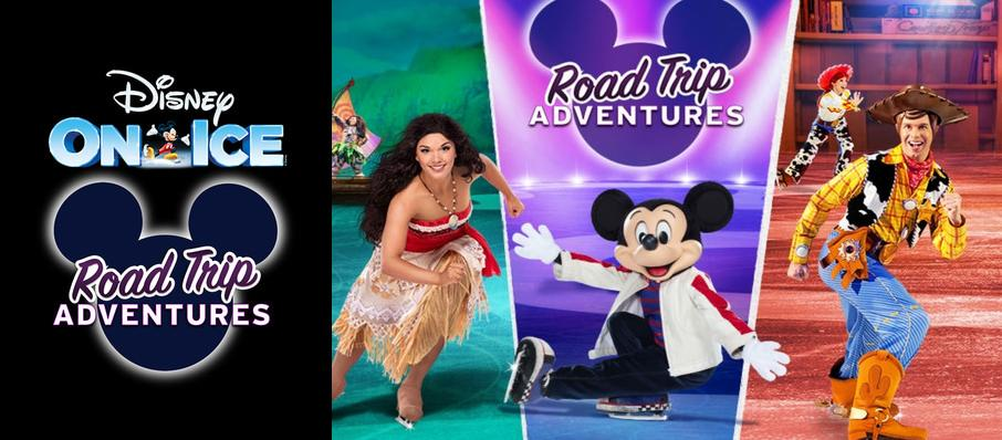 Disney On Ice: Road Trip Adventures at Raising Canes River Center Arena